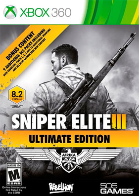Скачать торрент Sniper Elite 3: Ultimate Edition [REGION FREE/RUSSOUND] (LT+2.0) для xbox 360 без регистрации
