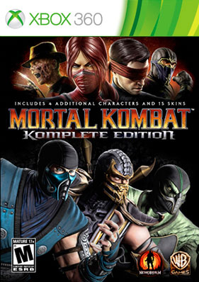 Скачать торрент Mortal Kombat: Komplete Edition [GOD/RUS] для xbox 360 без регистрации