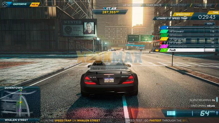 Скачать торрент Need For Speed Most Wanted [PAL/RUSSOUND] (LT+3.0) для xbox 360 без регистрации