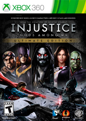Скачать торрент Injustice: Gods Among Us - Ultimate Edition [REGION FREE/RUS] (LT+3.0) для xbox 360 без регистрации