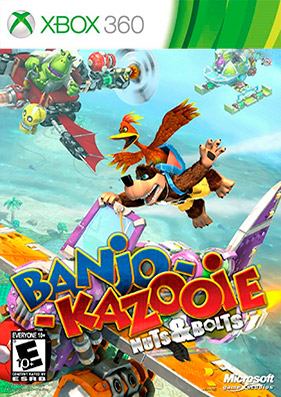 Скачать торрент Banjo-Kazooie. Nuts and Bolts + DLC + TU [JTAG/RUSSOUND] для xbox 360 без регистрации