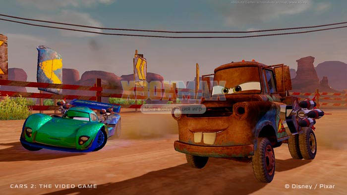 Скачать торрент Cars 2: The Video Game [REGION FREE/ENG] для xbox 360 без регистрации