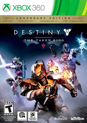 Скачать торрент Destiny: The Taken King. Legendary Edition [Region Free/Eng] (LT+3.0) для xbox 360 без регистрации