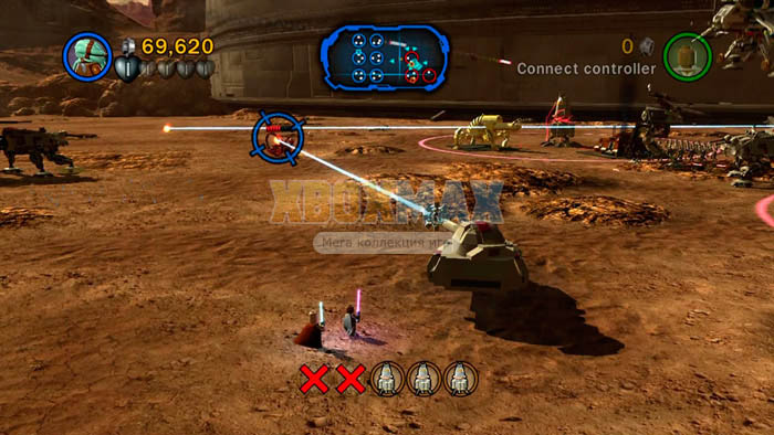 Скачать торрент LEGO Star Wars 3: The Clone Wars [REGION FREE/RUS] для xbox 360 без регистрации