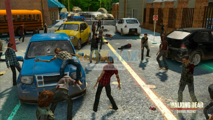 Скачать торрент The Walking Dead: Survival Instinct [REGION FREE/RUS] (LT+1.9 и выше) на xbox 360 без регистрации
