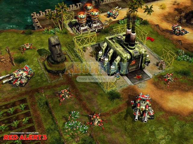 Скачать торрент Command & Conquer: Red Alert 3 [REGION FREE/GOD/RUSSOUND] на xbox 360 без регистрации