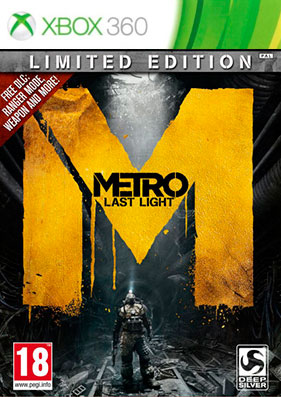 Скачать торрент Metro: Last Light - Limited Edition [REGION FREE/RUSSOUND] (LT+3.0) на xbox 360 без регистрации