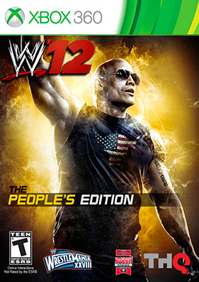 Скачать торрент WWE 12 Peoples Edition + DLC + TU [JTAG/RUS] на xbox 360 без регистрации