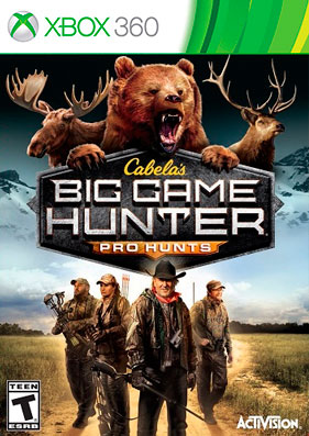Скачать торрент Cabela's Big Game Hunter: Pro Hunts [GOD/ENG] для xbox 360 без регистрации