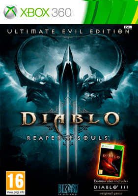 Diablo 3: Reaper of Souls. Ultimate Evil Edition [PAL/RUSSOUND] (LT+3.0)