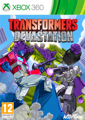 Скачать торрент Transformers: Devastation [REGION FREE/ENG] (LT+3.0) на xbox 360 без регистрации