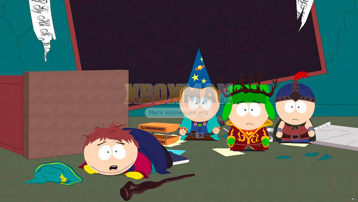 Скачать торрент South Park: The Stick of Truth Ultimate Edition + Trainer [GOD/RUS] для xbox 360 без регистрации