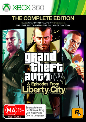 Grand Theft Auto: Episodes from Liberty City [GOD/RUS]