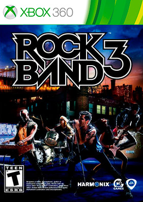 Rock Band 3 [REGION FREE/ENG]